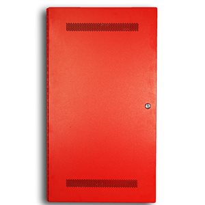 Distributed Panel, Dual Channel, 50W, Fire Phone, Red, 120VAC