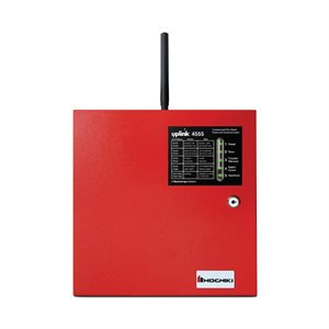 4-ZONE FIRE PANEL WITH BUILT-IN PRIMARY GSM CELLULAR COMMUNICATOR