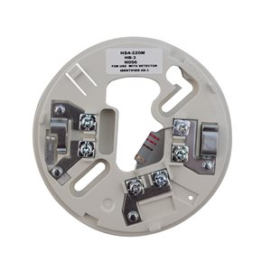 """NS4-220 - Conventional Detector Base, 2-Wire, 4"""", 24VDC"""