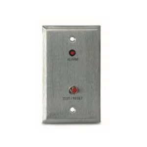 MS-RA/R Remote Alarm LED and Push Button Test/Reset Switch