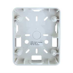HSB-W - Weatherproof Backbox, White (For use with HE Series)