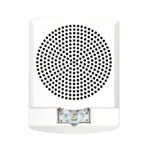 LLFHSW - Low Frequency Horn/Strobe, 24VDC,LED, 110cd, Wall Mount, White