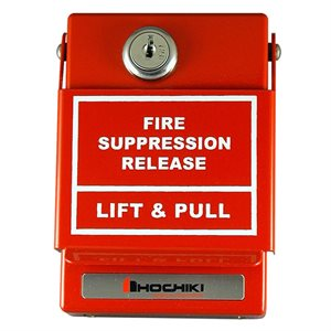 HPS-DAK-SR - Pull Station for Fire Suppression Release
