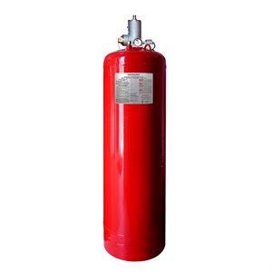 "250 lb. Clean Agent Cylinder 1.5"" Valve C/W Top Plug Adapter"
