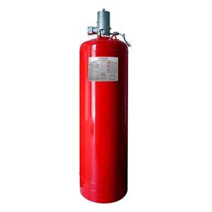 "375 lb. Clean Agent Cylinder 2.5"" Valve C/W Top Plug Adapter"