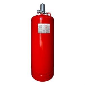 "560 lb. Clean Agent Cylinder 2.5"" Valve C/W Top Plug Adapter"