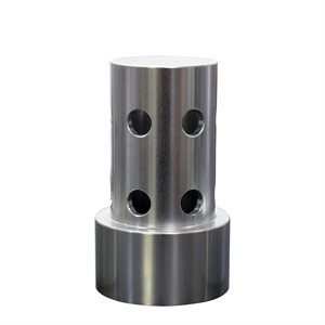 """1"""" 180 Stainless Sidewall Discharge Nozzle"""