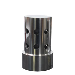 "1-1/4"" 360 Stainless Central Discharge Nozzle"