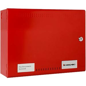 HA0710-10 Fire Document Box Shallow, Red